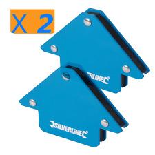 X2 Magnete Di Saldatura Squadra Magnetica Per Saldatura Saldatrice 75 Mm Squadro