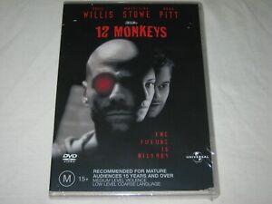 12 Monkeys - Bruce Willis - Brand New & Sealed - Region 4 - DVD
