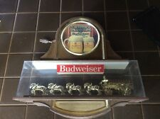 Vintage Budweiser Hanging World Champion Clydesdale Light