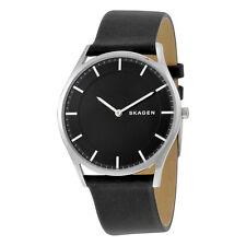 SKAGEN Holst Esfera De Color Negro De Cuero Reloj para hombres SKW6220 - 2 Años De Garantía