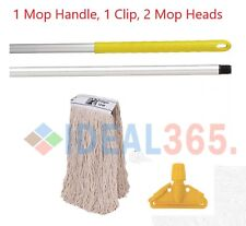 More details for yellow kentucky mop set complete with extra mop head