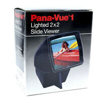 Pano-Vue 1 Lighted 2X2 Film Slide Viewer New Old Stock.      QDR27