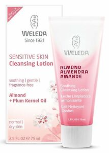Weleda Organic Almond Soothing Natural Cleansing Lotion, - 75 ml