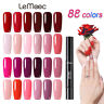 88 Color Nagel Gellack Soak off Nail UV Gel Polish Nail Art Base Top Coat LEMOOC