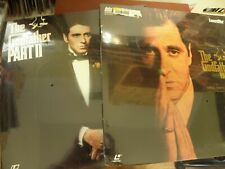 Sealed Laserdiscs The Godfather Part Iii Final Director's Cut (Longer)+ Part Ii