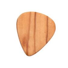 Médiators de guitare basse électrique acoustique en bois d'olivier pour