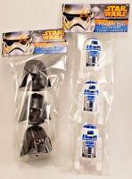 2015 Star Wars Figural Egg R2 D2 Darth Vader New in Package