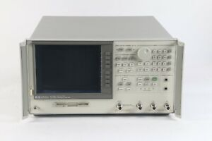 HP Keysight Agilent 8702D 30KHz - 3GHz Lightwave Component Analyzer W/ Opt. 011