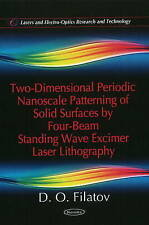 Two-Dimensional Periodic Nanoscale Patterning of Solid Surfaces by Four-Beam Sta