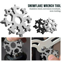 20 In 1 Snowflake MultifunctionScrewdriver Outdoor Camp Survive SALE DP