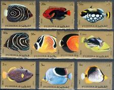 Fujeira 1972 ** Mi.1380/89 A Fische Fish Poissons