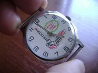 Vintage russian mechanical watch  Pobeda Men's Soviet USSR