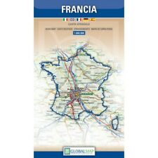 FRANCIA CARTINA STRADALE  [SCALA: 1: 800 000] [MAPPA/CARTA/POSTER] GLOBAL MAP