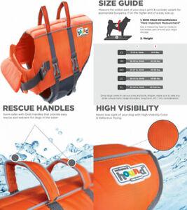 Outward Hound Dog Life Jacket X-Large, Orange