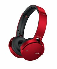 Sony MDR-XB650BT EXTRA BASS Bluetooth Wireless Headphones Red NEW from Japan