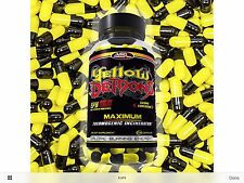 Thermogenic Fat Burner For Men And Women YELLOW DEMONS By Anabolic Science Best