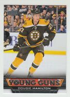 (56022) 2013-14 UPPER DECK YOUNG GUNS ROOKIE CARD DOUGIE HAMILTON #202