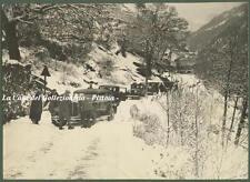 "AUTOMOBILISMO. ""Circuito invernale del Sestrieres. 11 dicembre 1932....."""
