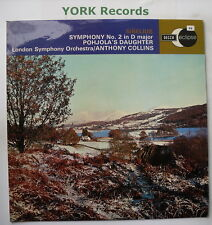 ECS 582 - SIBELIUS - Symphony No 2 - COLLINS London SO - Excellent Con LP Record