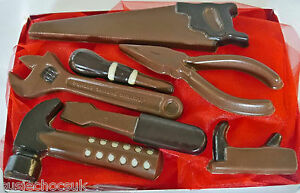 Belgian Chocolate Tool Kit, Hand-made.May be personalised