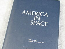 AMERICA IN SPACE-FIRST ADDITION (24) STERLING SILVER ROUND PROOFS-FREE SHIPPING