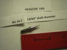 """Hexacon WL 14.7, soldering tip,  7/32"""" diameter, Weller PTE 7,Combine Shipping"""