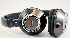 Soniq USA SH700M Nitro DJ Lightweight Headphones for Smartphone - Black/Graphite