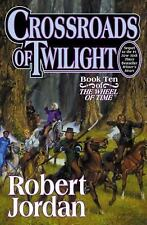 Wheel of Time: Crossroads of Twilight 10 by Robert Jordan (2003, Hardcover, Revi