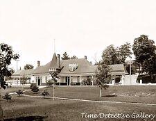 Pere Marquette Railroad Station, Charlevoix-Petoskey, MI - Historic Photo Print