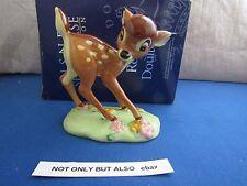 Royal Doulton fábrica copia de artista Bambi FC 1 comprimidos Classics Collection MIB Disney