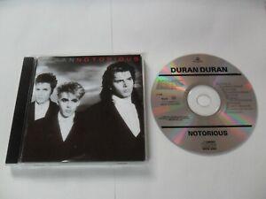 DURAN DURAN - Notorious (CD) Holland Pressing