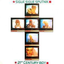 "Sigue Sigue Sputnik 7"" 21st Century Boy - France (VG+/EX)"
