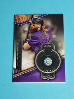 Charlie Blackmon Jersey Colorado Rockies 2018 Topps Tribute Purple 36/50