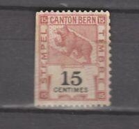 Switzerland  Canton Bern 15 centimes unused