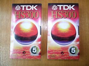 TDK E180 TV  Blank Tapes VHS Tape