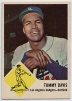 1963 Fleer #40 Tommy Davis VG Marked Los Angeles Dodgers FREE SHIPPING