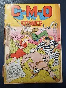 Rare No. 1 issue 1942  C-M-O Chicago Mail Order CMO Comic Book C.M.O. FAIR/GOOD