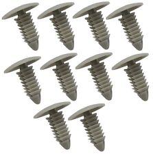 10x Agrafes clips gris pour pare-choc pare-boue aile pour GM Chrysler Ford