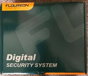 Floureon 8Channel security system with four cameras