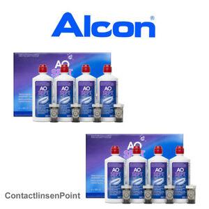 1 - 6 Flaschen Alcon - AoSept Plus  - 90ml / 1x Behälter 4 - 8 Flaschen a 360ml