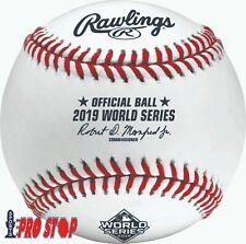 2019 Rawlings Official WORLD SERIES Baseball Boxed ASTROS vs NATIONALS