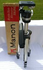 Vintage Manon 800 Heavy Duty Metal Camera Tripod Stand