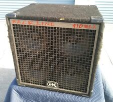 GK GALLIEN KRUEGER Electric Bass Amp Amplifier Speaker! BACKLINE 410BLX-II 400W