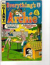 3 Archie Comic Books Everything's # 8 + Reggie's Wise Guy Joker # 14 18 DK1