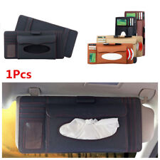 Car Visor Clip Holder Card Pen CD Holder Organizer Tissue Boxes Stowing Tidying
