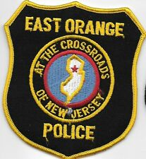 EAST ORANGE NJ POLICE DEPT EPD OPD AT THE CROSSROADS OF NEW JERSEY