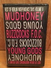 VHS- Best of Berlin Independence Days 1990 Volume 2 STUD!O K7 Mudhoney Buzzcocks