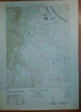 1940's Army map Cheyenne Mountain Colorado Sheet 5061 III NE