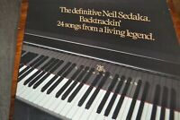 NEIL SEDAKA   THE DEFINITIVE NEIL SEDAKA  BACKTRACKIN   LP   STARBLEND  TRACK K2