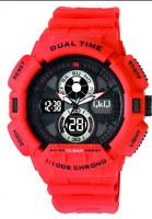 Original  New  Analog  Digital  Watch  Q&Q GW81J005Y Sport MEN'S 100m Dual Time